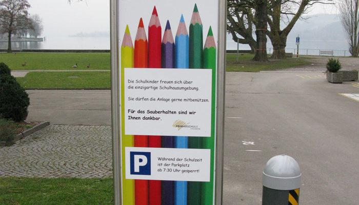 Tafel für Schulhaus Steckborn