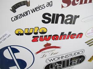 Schriften / Logos